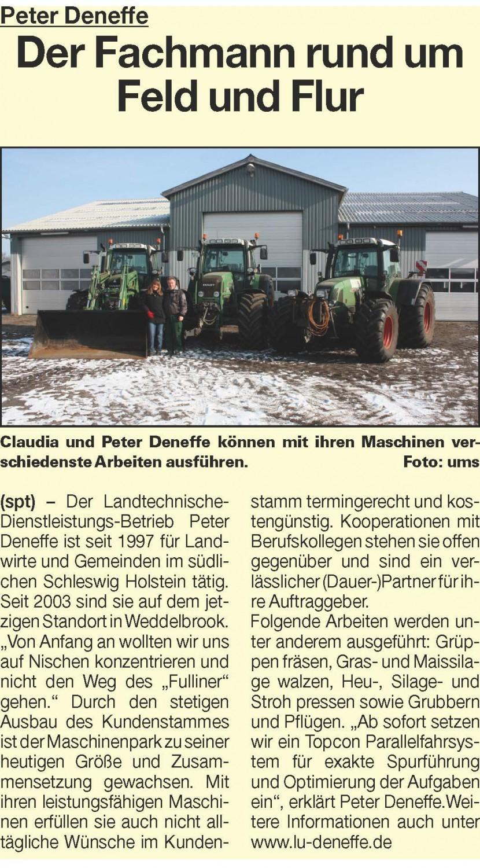 Anzeige Umschau 19.03.2014