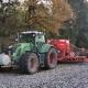 Fendt Vario 933 Hafer drillen Lohnunternehmer Deneffe